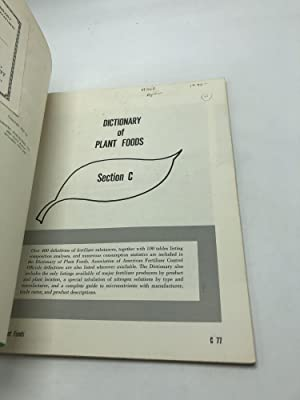 Dictionary of Plant Foods