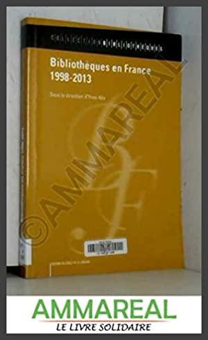 Bibliothèques en France (1998-2013)
