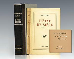 L'Etat de siege. Spectacle en trois parties.: Camus, Albert