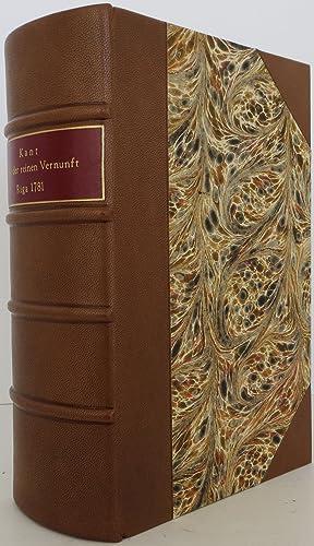 Critik der reinen Vernunft (A Critique of: Kant, Immanuel