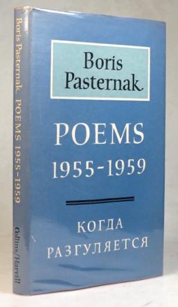 Poems. 1955-1959. English versions by Michael Harari: PASTERNAK, Boris