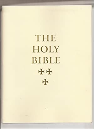 The Holy Bible, an Illustrated Folio Edition: Pennyroyal Caxton Press,