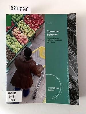 Hoyer, W: Consumer Behavior, International Edition: Pieters, Rik, Wayne