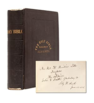 The Holy Bible: Containing the Old and: Smith, Julia, translator]