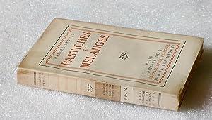 Pastiches et Mélanges: Marcel Proust
