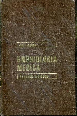 EMBRIOLOGIA MEDICA.: LANGMAN, Jan.