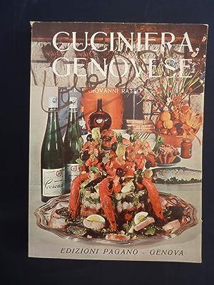 CUCINIERA GENOVESE 15° Edizione con un Dizionarietto: G.B. e Giovanni