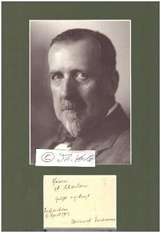 HEINRICH MANN (1871-1950) deutscher Schriftsteller, älterer Bruder: HEINRICH MANN (1871-1950)