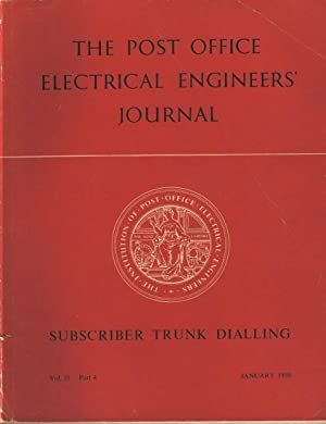 The Post Office Electrical Engineers Journal: Subscriber