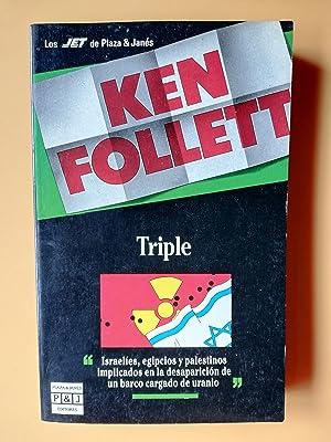 Triple. Israelíes, egipcios y palestinos implicados en: Ken Follet