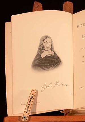 The Poetical Works of John Milton: Henry Charles Beeching
