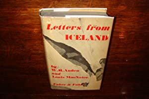 Letters From Iceland (signed first printing)