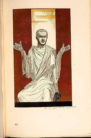 Les Douze Césars: SCHMIED, Francois-Louis, illustrator;