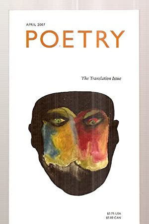 Poetry Volume CXC Number 1 April 2007: Wiman, Christian (editor)