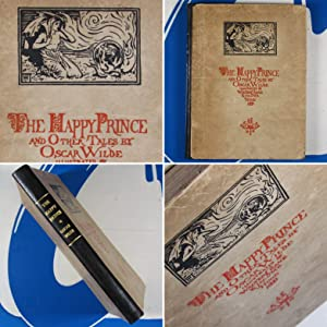 THE HAPPY PRINCE AND OTHER TALES, Illustrated by Walter Crane & Jacomb Hood. Second edition