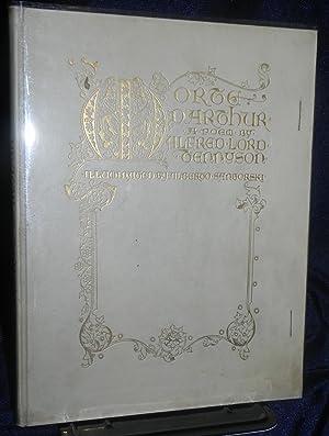 Morte D'arthur 1912 Deluxe Vellum Edition Alberto