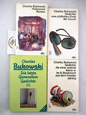 KONVOLUT aus VIER Bänden. 1. Die letzte: Bukowski, Charles: