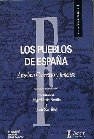 LOS PUEBLOS DE ESPAÑA: Carretero y Jiménez.
