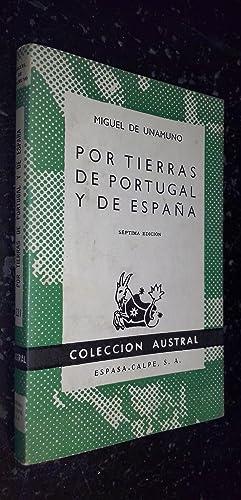 Por tierras de Portugal y de España: UNAMUNO, Miguel de: