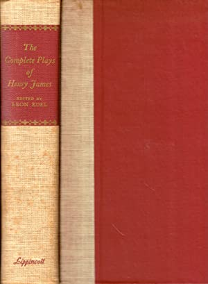 The Complete Plays of Henry James: Edel, Leon
