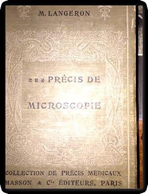 precis de microscopie langeron: M. LANGERON