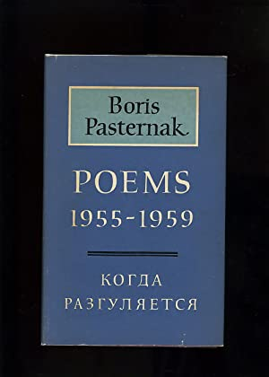 POEMS 1955-1959 [First UK edition]: Boris Pasternak