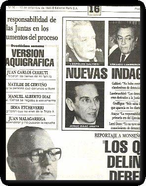 el diario del juicio n 16juicio a: PERFIL
