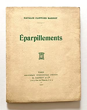 Éparpillements [inscribed]