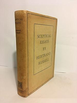 Sceptical Essays: RUSSELL, Bertrand.