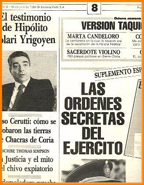 el diario del juicio n 8juicio a: PERFIL