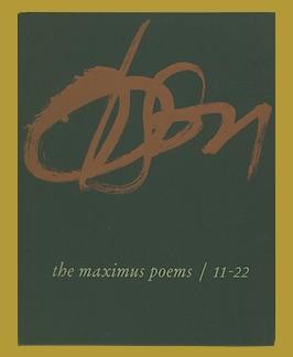 Immagine del venditore per The Maximus Poems 11-22. venduto da Jeff Maser, Bookseller - ABAA