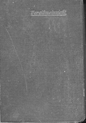 Christliches Vergißmeinnicht in Spruch und Lied für: K.Th.Ehmann, (Herausgeber)::