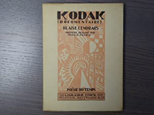 KODAK ( Documentaire ).: CENDRARS Blaise -