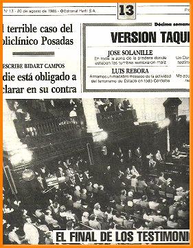 el diario del juicio n 13juicio a: PERFIL