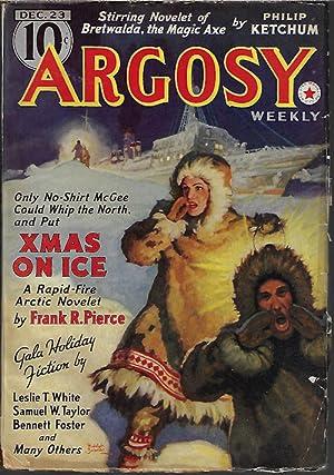 "ARGOSY Weekly: December, Dec. 23, 1939 (""Rawhide: Argosy (Frank Richardson"