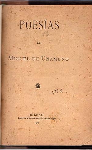 Poesías .: Unamuno, Miguel de
