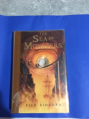 The Sea of Monsters (Signed and Dated) Very Fine, As new US 1/1 HB (Percy Jackson and the Olympia...