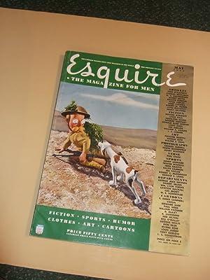Esquire Magazine for Men, MAY 1942, Volume: Esquire Magazine (