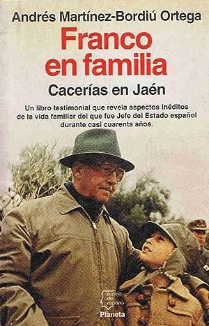 Imagen del vendedor de FRANCO EN FAMILIA. Cacerías en Jaén a la venta por Librería Torreón de Rueda