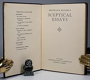 Sceptical Essays.: Russell, Bertrand.