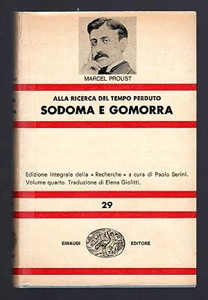 Sodoma e Gomorra: Proust Marcel