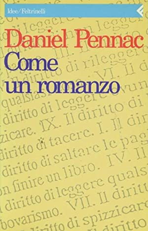 Come un romanzo: Pennac, Daniel -