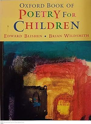 Poetry for children: Edward Blishen, Brian