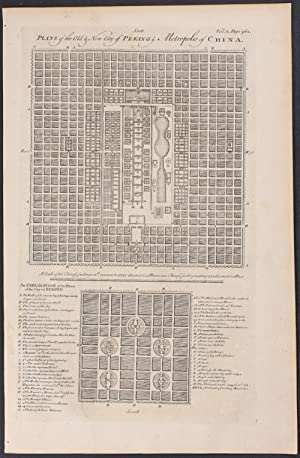 Plans of the City of Peking, China