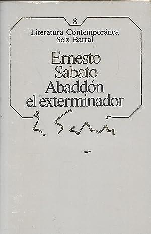 ABADDON EL EXTERMINADOR: ERNESTO SABATO