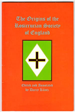 The Origins of the Rosicrucian Society in England (association copy)