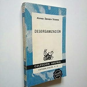 Desorganización: Alonso Zamora Vicente