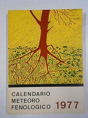 CALENDARIO METEORO FENOLÓGICO 1977 MINISTERIO DEL AIRE