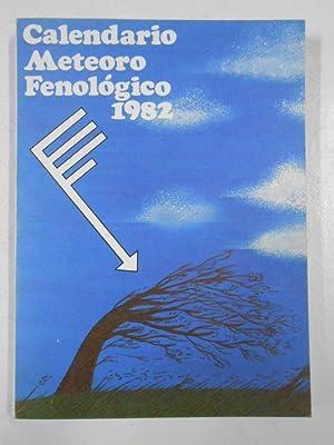 CALENDARIO METEORO FENOLÓGICO 1982 MINISTERIO DEL AIRE