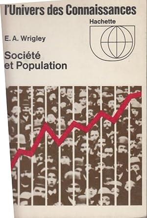 Population et histoire: E A Wrigley